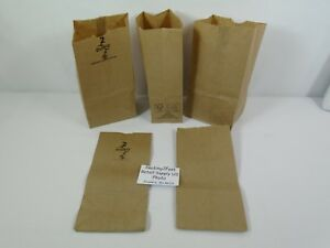 2-Paper-Brown-Kraft-Natural-Sack-Lunch-Grocery-Retail-Bags
