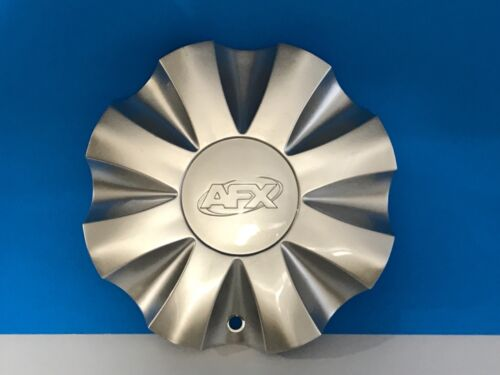 RARE AFX CUSTOM WHEEL SILVER CENTER CAP 80222085F-1