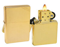 Zippo Lighter 240 1937 Vintage Series With Slashes Brushed Brass Windproof on sale