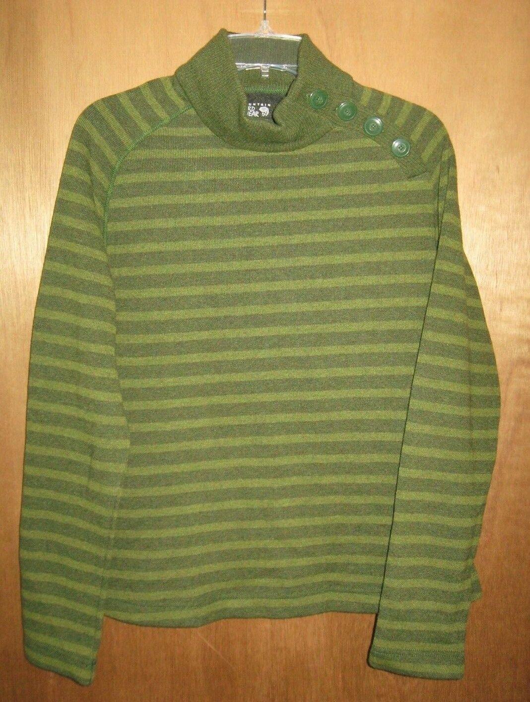 New Mountain HardWear Women's Green Wool Blend Sweater - Size L
