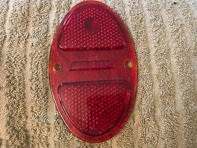 Chevrolet Chevy Car Truck Taillight Tail Lamp Glass Lens 1931-1935 See Years