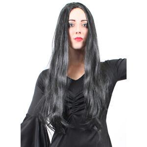 WOMENS-FULL-LONG-BLACK-WIG-STRAIGHT-HAIR-SYNTHETIC-FANCY-DRESS-HALLOWEEN-WIGS
