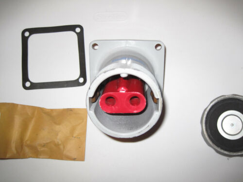 CROUSE HINDS ARKTITE AR1027 M72 RECEPTACLE 100 AMPS 2W2P 600 VAC 250 VDC NEW