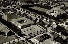 Niebüll AK ~1950/60 Südtondern Nord-Friesland Luftbild Gebäude Häuser Straße