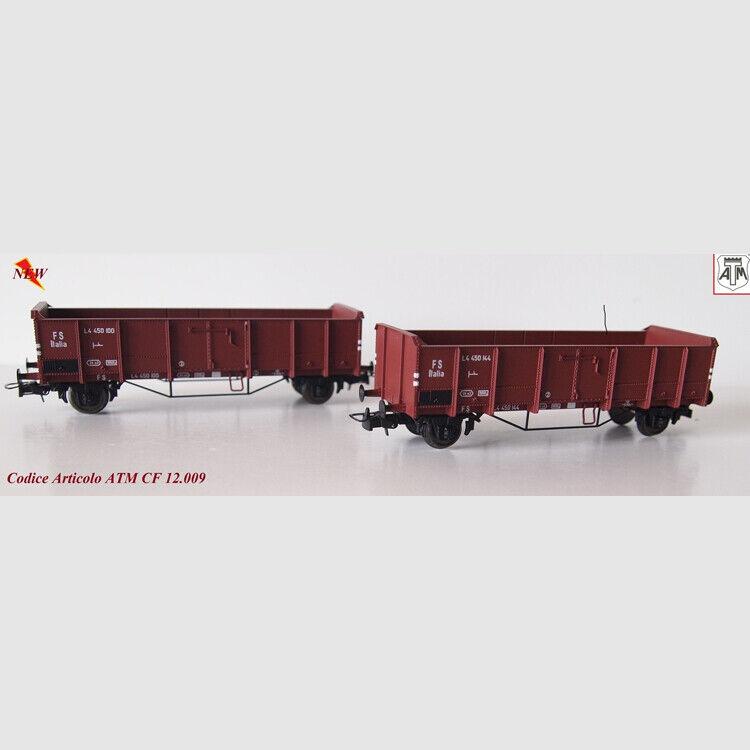 Confezione 2 Carri Tipo L delle FS - Art. ATM CF12009