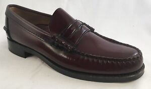 Sebago Vintage Mens Penny Loafers 54-766 Made In USA