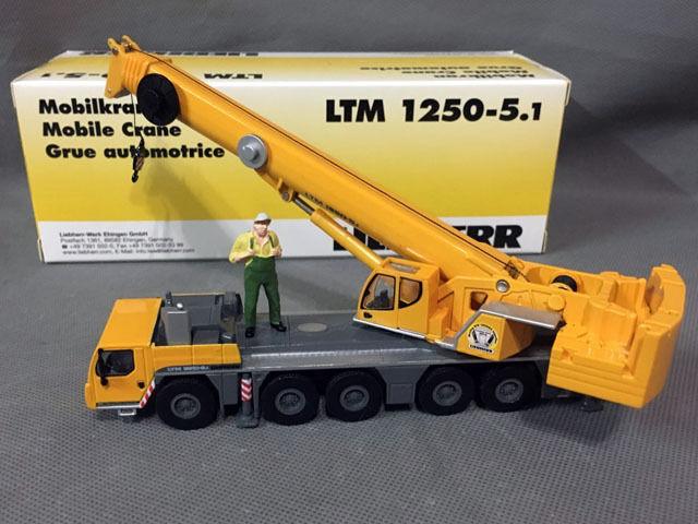 Tonkin 1 87 Liebherr LTM 1250-5.1 Mobilkran Mobile Crane Grue Automtrice 31-0043