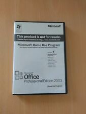 Microsoft Office Professional Edition 2003 Complete With Key
