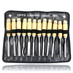 12Pcs-Wood-carving-chisel-set-woodworking-gouge-set-carbon-steel-carving-tooXBHC