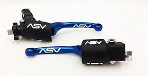 ASV-Blue-F3-Unbreakable-Brake-Clutch-Lever-Kit-Raptor-700-YFZ450-450R-2007