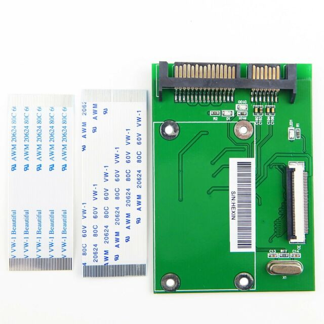 "7+15 pin 2.5/"" SATA to mSATA SSD Adapter card"