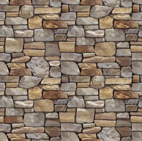 5 SHEETS EMBOSSED BUMPY BRICK stone wall 21x29cm SCALE 124 CODE f45