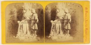 Braun-Scultura-Savoia-Foto-Stereo-PL56L1n-Vintage-Albumina-c1865