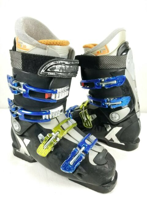 Salomon XWave 9.0 Ski Boots Custom Fit 3D 305mm Size US 8 EU 41 26.0 Black Blue
