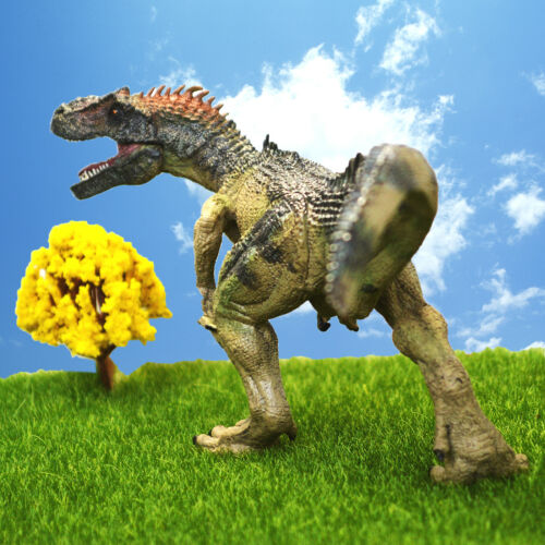 Realistic Allosaurus Dinosaur Action Figure Toy Model Christmas Gift for Kids
