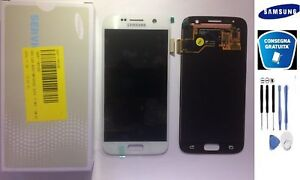 DISPLAY-LCD-TOUCH-SCREEN-ORIGINALE-SAMSUNG-GALAXY-S7-SM-G930F-BIANCO-KIT