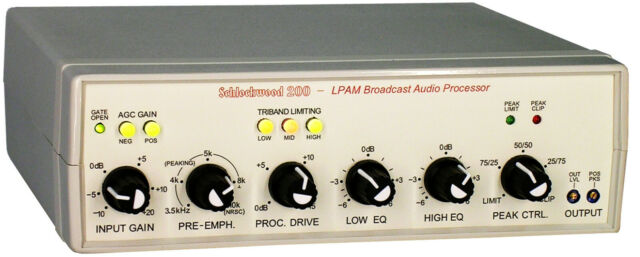 Multiband Audio Processor for AM Broadcasting - SW200 ONE UNIT LEFT IN STOCK!!!