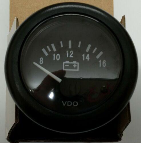 12v Marine VDO Volt gauge 8 to 16 volt brand new and boxed UK seller