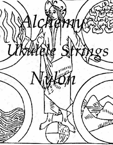 Clear Nylon Ukulele Strings  Soprano Concert or Double Length