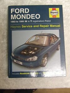 ford mondeo 1993 1999 petrol haynes service workshop repair manual rh ebay co uk Otawwa Workshop Manuals Ford Workshop Manuals