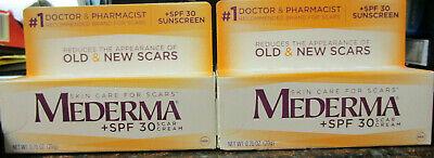 Lot Of 2 Mederma Skin Care For Scars Spf 30 Scar Cream 0 70 Oz