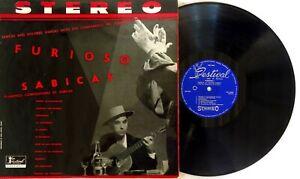 Sabicas-Dolores-Vargas-Los-Companeros-Del-Flamenco-Furioso-LP-1959-FST-11023T