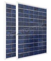 20W 2pcs 10W 12V poly solar panel,  PV solar module battery charger RV car boat