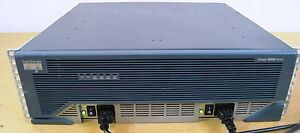 CISCO-3845-Intergrated-Router-IOS-15-1-1GB-Dram-256MB-Flash-w-DUAL-Power-Supply