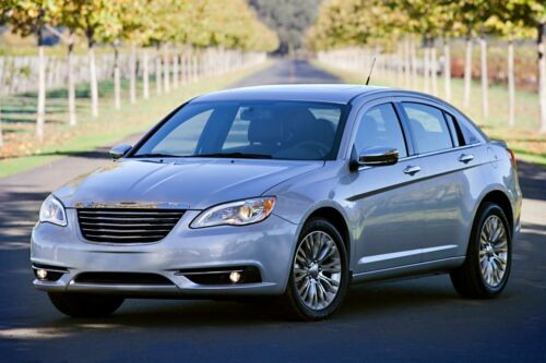 11-12 Chrysler 200 Chrome Door Handle Cover Trim Set 4 Door 4DR Shipped In USA