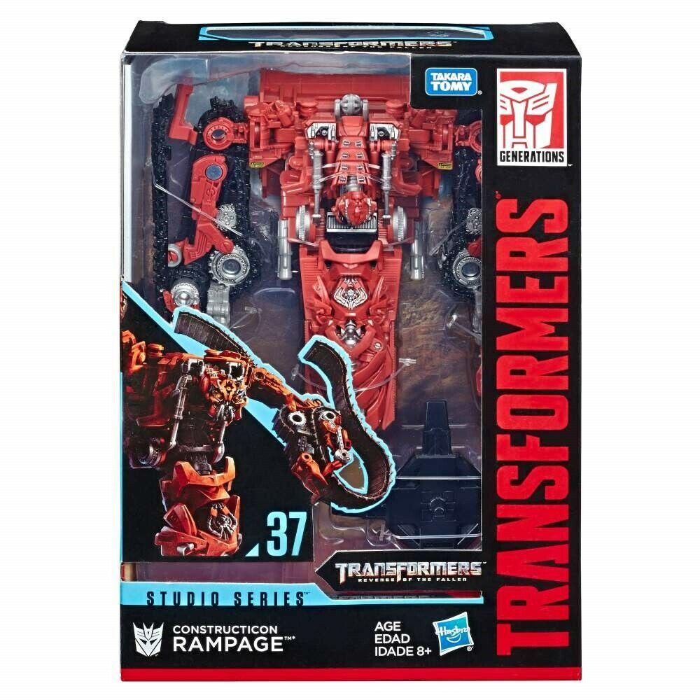(In-Hand) Transformers Studio Series SS37 Voyager Constructicon Rampage NEW