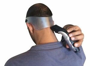 neck hair line template guide 4 trimming shaving clippers haircut ebay