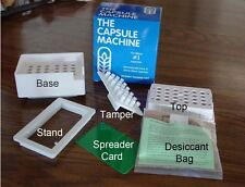 CAPSULE MACHINE FILLER FOR EMPTY CAPSULES #1 Size,