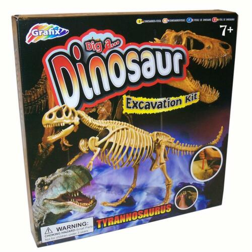 Christmas Gift Grafix Dig a Dinosaur Excavation Kit T-REX
