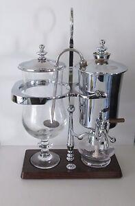 Royal-Belgique-Palladium-original-p-amp-b-Balance-Cafetiere-tres-bon-etat-tres-RARE