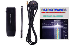 RTL SDR RADIO RIG for ANDROID GOOGLE TABLET OTG CABLE (RTL2832U+R820T2)