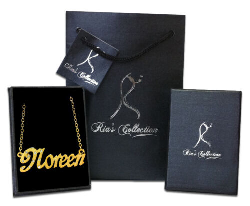 Jewellery Birthday Gift Ideas For Her NOREEN Gold Plated Name Necklace