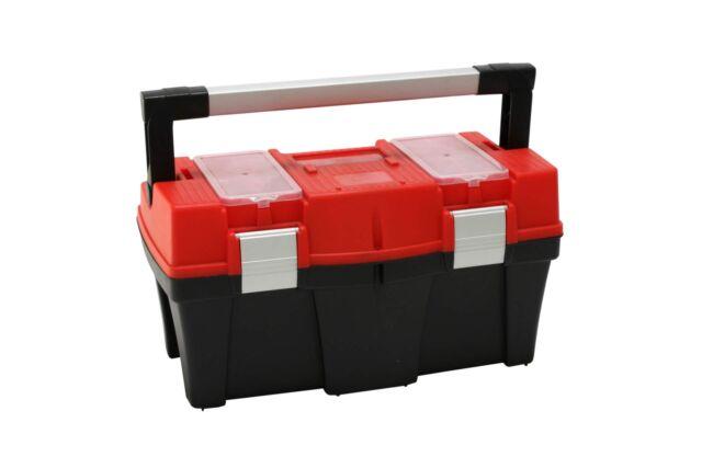 Werkzeugbox APTOP N18 schwarz rot 45 x 25 x 24 cm Werkzeug Koffer Kasten Box NEU