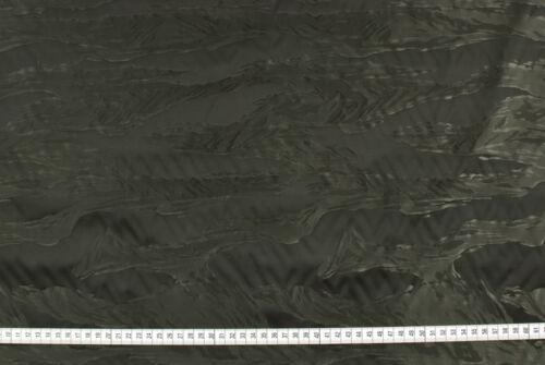 Tessuto idrorepellente nero grigio striato STOFFA AL METRO TESSUTO A METRAGGIO