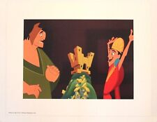 "Disney Art Print Lithograph 11""x14"" Emperor's New Groove Kuzco Pacha Vacation"