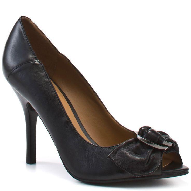 Guess damen Tress 3 Slip On Buckle Peep Toe Pumps Fashion Heels Dress schuhe