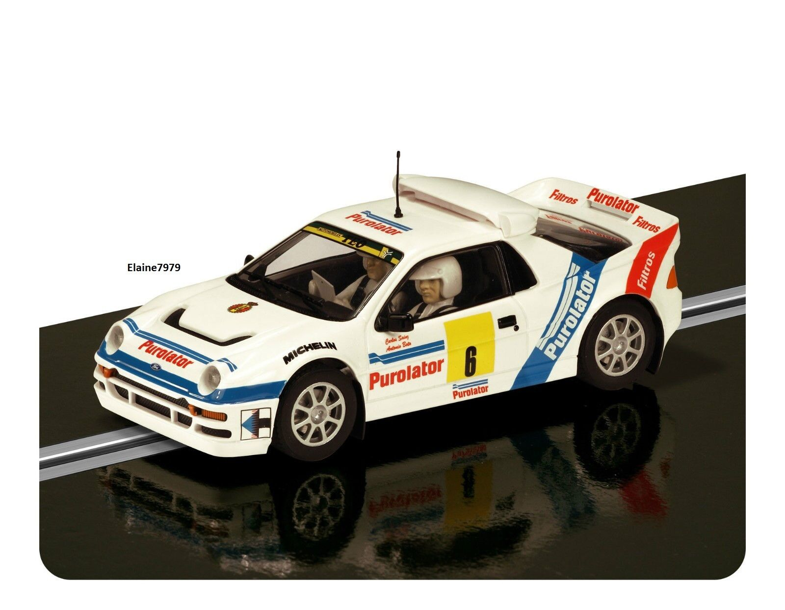 Scalextric Ford RS200 Purolator No6 DPR & Lights (C3326) Brand New Unboxed
