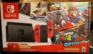 Details about BRAND NEW NINTENDO SWITCH SUPER MARIO ODYSSEY EDITION (US  VER)-FREE US SHIPPING!