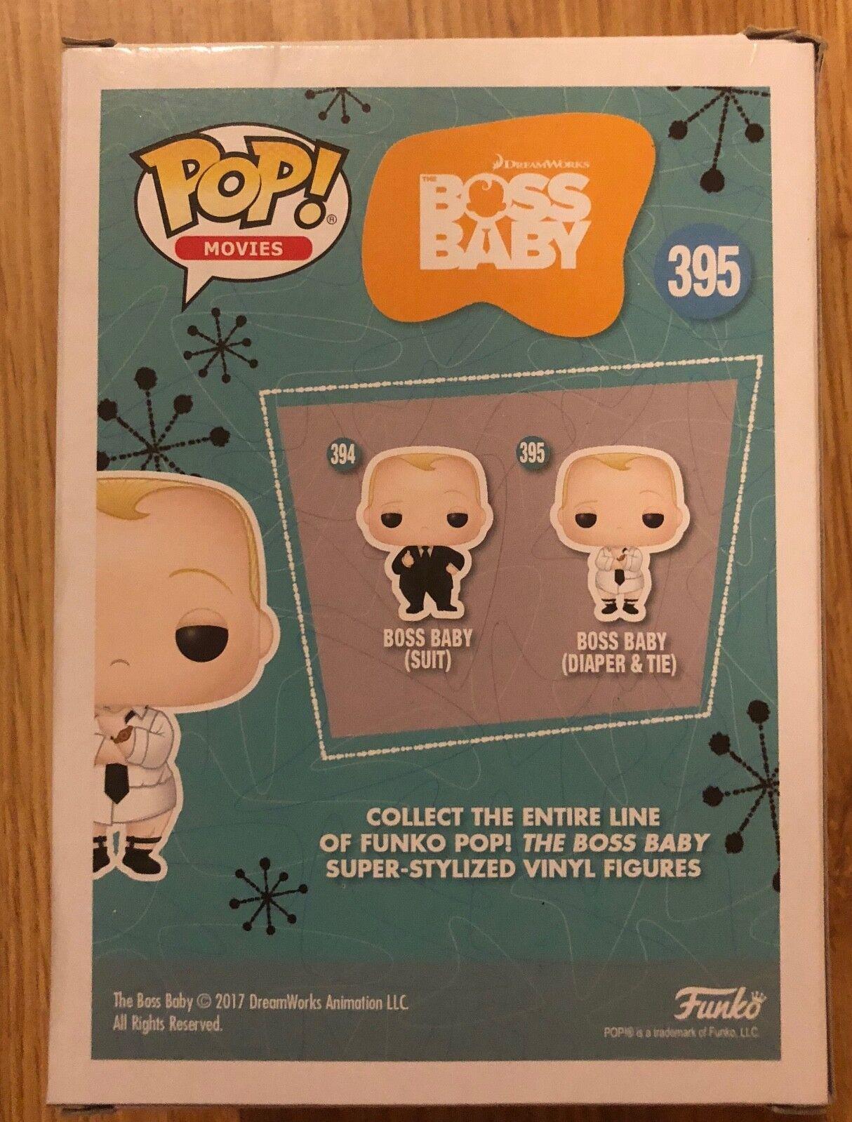 The Boss Baby UK Seller New - Funko Pocket Pop!