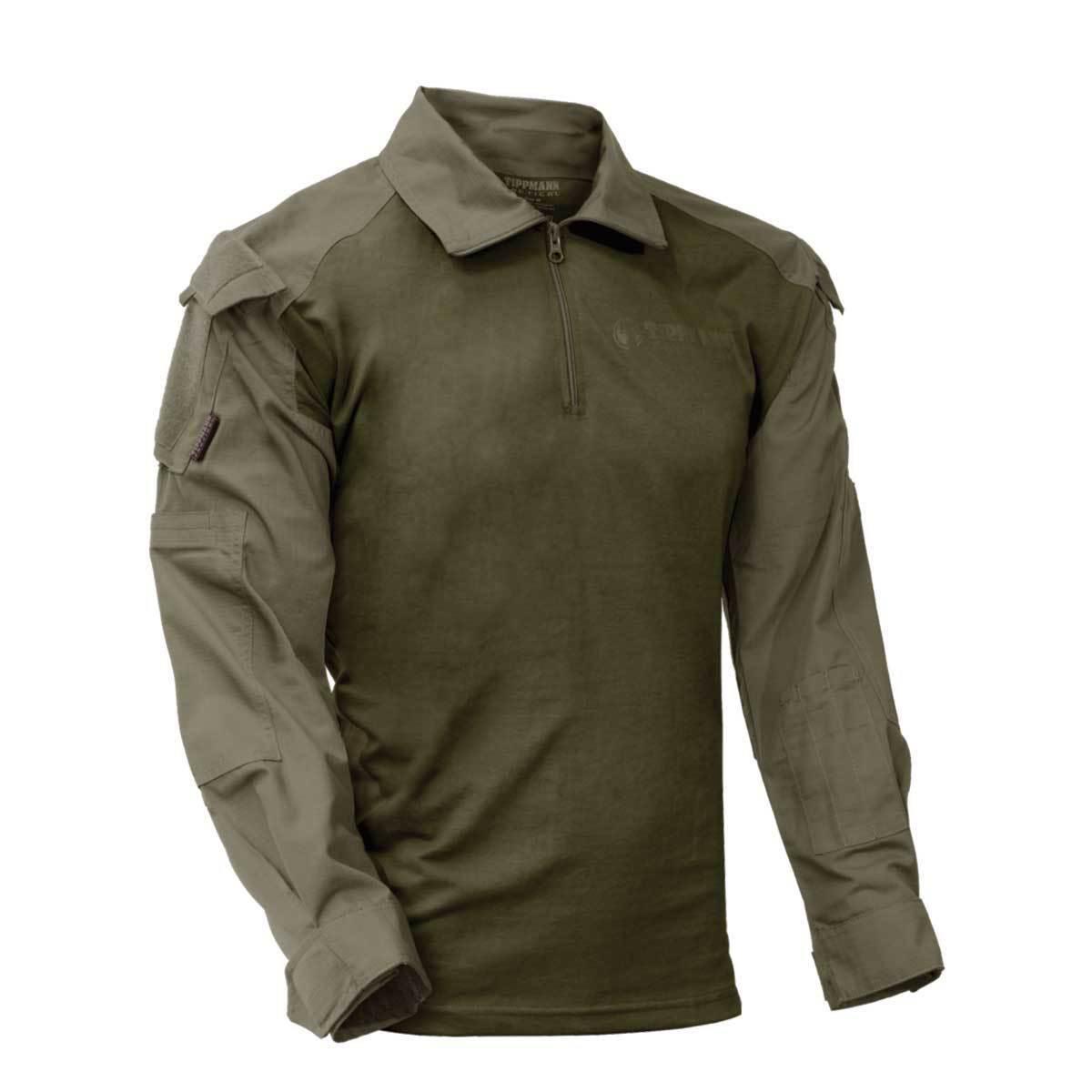 Tippmann Tactical TDU Shirt - Olive - Large