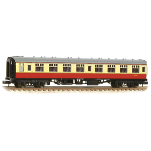 Graham Farish 374-060D BR Mk1 SK Second Class Corridor Crimson & Cream N Gauge