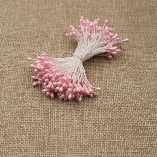 3mm Pearl Effect Double Head Stamen Artificial Flower Crafts Cake Decoration