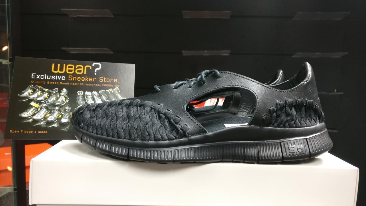 NIKE FREE QS INNEVA 5.0 SANDAL DS QS FREE BLACK FOOTSCAPE WOVEN TZ RARE RIFT SP OG UK8.5 786a3f