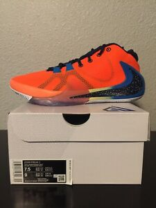 Nike Zoom Freak 1 All Bros Total Orange BQ5422 800 Release