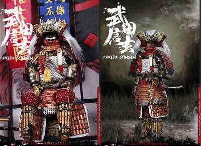 COOMODEL SE040 1//6th Diecast Alloy Takeda Shingen Tiger of Kai Figure Sandals