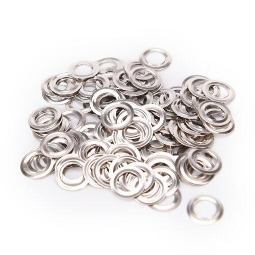 100pcs 4mm Scrapbook oeillet métal pour les vêtements de bricolage LC